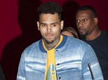 L'Oreal Red Obsession Party in Paris.....3/8/2016....Pictured: Chris Brown..Ref: SPL1243560  080316  ..Picture by: KCS Presse / Splash News....Splash News and Pictures..Los Angeles: 310-821-2666..New York: 212-619-2666..London: 870-934-2666..photodesk@splashnews.com..