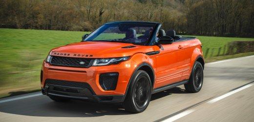 Range Rover Evoque Cabrio: Ab geht die Wanne
