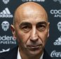 VALENCIA, SPAIN - MARCH 31:  New Valencia CF head coach Pako Ayestaran looks on during a press conference at Paterna Training Centre on March 31, 2016 in Valencia, Spain.  (Photo by Manuel Queimadelos Alonso/Getty Images)