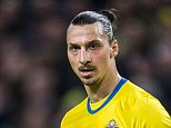 SOLNA, SWEDEN - MARCH 29: Swedens Zlatan Ibrahimovic during the international friendly between Sweden and Czech Republic at Friends Arena on March 29, 2016 in Solna, Sweden. (Photo by Marcus Ericsson/Ombrello/Getty Images)