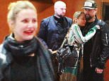 *EXCLUSIVE* Los Angeles, CA - Nicole Richie and her husband Joel Madden enjoyed a family dinner with Cameron Diaz and husband Benji at The Line Hotel in Koreatown. Nicole shared a warm hug with her sister-in-law before she cuddled up with her rockstar hubby.\nAKM-GSI         March 29, 2016\nTo License These Photos, Please Contact :\nSteve Ginsburg\n(310) 505-8447\n(323) 423-9397\nsteve@akmgsi.com\nsales@akmgsi.com\nor\nMaria Buda\n(917) 242-1505\nmbuda@akmgsi.com\nginsburgspalyinc@gmail.com