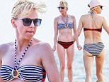 """27.March.2016 - Maui -  USA\n*PREMIUM EXCLUSIVE - UK CLIENTS MUST CALL FOR PRICING**\n**NO WEB UNTIL FURTHER NOTICE**\n*** STRICTLY AVAILABLE FOR UK AND GERMANY USE ONLY ***\nAnna Faris looks amazing in her bikini while spending time with her mom, dad, and brother ahead of Easter. The 39-year-old actress is in high spirits laughing and playing with her son Jack.  Anna's show """"Mom"""" was just picked up for season 4.\nBYLINE MUST READ : AKM-GSI-XPOSURE\n***UK CLIENTS - PICTURES CONTAINING CHILDREN PLEASE PIXELATE FACE PRIOR TO PUBLICATION ***\n*UK CLIENTS MUST CALL PRIOR TO TV OR ONLINE USAGE PLEASE TELEPHONE 0208 344 2007*\n"""