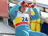 Film: Eddie the Eagle (2016), starring Taron Egerton as Eddie 'The Eagle' Edwards.     Directed By DEXTER FLETCHER  26 January 2016  SAP62873  Allstar/LIONSGATE  **WARNING** This Photograph is for editorial use only and is the copyright of LIONSGATE  and/or the Photographer assigned by the Film or Production Company & can only be reproduced by publications in conjunction with the promotion of the above Film. A Mandatory Credit To LIONSGATE is required. The Photographer should also be credited when known. No commercial use can be granted without written authority from the Film Company.