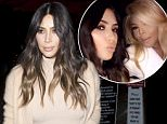 Kim Kardashian wearing light colored fishnet stockings and a mini dress with a Beige coat was seen arriving at 'Craigs' Restaurant in West Hollywood, CA\n\nPictured: Kim Kardashian\nRef: SPL1254148  300316  \nPicture by: SPW / Splash News\n\nSplash News and Pictures\nLos Angeles: 310-821-2666\nNew York: 212-619-2666\nLondon: 870-934-2666\nphotodesk@splashnews.com\n