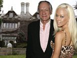 LOS ANGELES, CA - JULY 18: Hugh Hefner and Kendra Wilkinson attend the Playboy and Skyy Vodka Party on July 18, 2006 in Los Angeles, California. (Photo by Chad Buchanan/Getty Images)