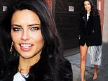 New York, NY - Adriana Lima looks stunning showing a little leg under he silver dress arriving for a photo shoot in New York.\nAKM-GSI          March 30, 2016\nTo License These Photos, Please Contact :\nSteve Ginsburg\n(310) 505-8447\n(323) 423-9397\nsteve@akmgsi.com\nsales@akmgsi.com\nor\nMaria Buda\n(917) 242-1505\nmbuda@akmgsi.com\nginsburgspalyinc@gmail.com