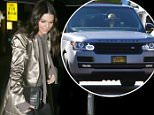 West Hollywood, CA - Kendall Jenner takes a selfie with some young fans as she arrives at The Nice Guy in West Hollywood in a gold silk duster coat, black skinnies and heels.\nAKM-GSI   March  31, 2016\nTo License These Photos, Please Contact :\nSteve Ginsburg\n(310) 505-8447\n(323) 423-9397\nsteve@akmgsi.com\nsales@akmgsi.com\nor\nMaria Buda\n(917) 242-1505\nmbuda@akmgsi.com\nginsburgspalyinc@gmail.com