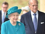 Mandatory Credit: Photo by Tim Rooke/REX/Shutterstock (5254363a) Queen Elizabeth II and Prince Philip Queen Elizabeth II opens School of Veterinary Medicine at the University of Surrey, Guildford, Britain - 15 Oct 2015