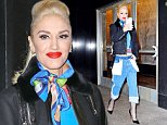 Mandatory Credit: Photo by Buzz Foto/REX/Shutterstock (5622210e)\nGwen Stefani\nGwen Stefani out and about, New York, America - 31 Mar 2016\n