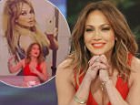 "THE VIEW - Jennifer Lopez visits ""THE VIEW,"" airing Thursday, March 31, 2016 (11:00 a.m. - 12:00 noon, ET) on the ABC Television Network.    (Photo by Lou Rocco/ABC via Getty Images)  JENNIFER LOPEZ"