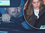 EXCLUSIVE: Leonardo DiCaprio and mystery woman are seen living Nobu this evening in Los Angeles\n\nPictured: Leonardo DiCaprio \nRef: SPL1254642  300316   EXCLUSIVE\nPicture by:  Splash News\n\nSplash News and Pictures\nLos Angeles: 310-821-2666\nNew York: 212-619-2666\nLondon: 870-934-2666\nphotodesk@splashnews.com\n