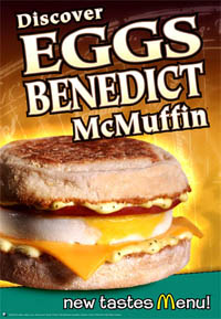 6. Eggs Benedict McMuffin