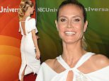 NBCUniversal Summer Press Day held at the Four Seasons Westlake. Westlake Village California April 1, 2016 \n\nPictured: Heidi Klum\nRef: SPL1246019  010416  \nPicture by: Fitzroy Barrett / Splash News\n\nSplash News and Pictures\nLos Angeles: 310-821-2666\nNew York: 212-619-2666\nLondon: 870-934-2666\nphotodesk@splashnews.com\n
