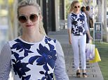 Brentwood, CA - Reese Witherspoon is wearing pretty prints as she goes shopping wearing her own brand 'Draper James.' The 40-year-old actress exudes timeless Southern style in a Draper James floral top and white jeans paired with platform heels. Reese tops off her look with large frame round shades and a bright yellow handbag, also by Draper James. \nAKM-GSI       March 31, 2016\nTo License These Photos, Please Contact :\nSteve Ginsburg\n(310) 505-8447\n(323) 423-9397\nsteve@akmgsi.com\nsales@akmgsi.com\nor\nMaria Buda\n(917) 242-1505\nmbuda@akmgsi.com\nginsburgspalyinc@gmail.com