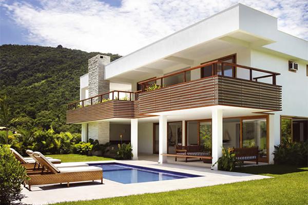 telhados para a moradia a construir