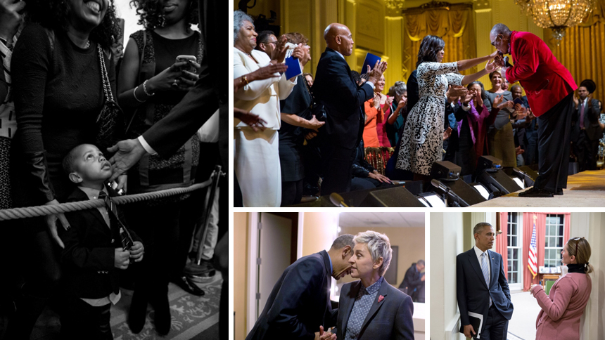 A sample of images from the White House Photo Office's Past Photo Picks of The Day