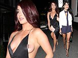 2 Apr 2016 - BRENTWOOD - UK  JESSICA HAYES SUFFERS A WARDROBE MALFUNCTION AS SHE ARRIVES AT SUGAR HUT IN BRENTWOOD ESSEX A LONG WITH JASMIN WALIA BYLINE MUST READ : XPOSUREPHOTOS.COM  ***UK CLIENTS - PICTURES CONTAINING CHILDREN PLEASE PIXELATE FACE PRIOR TO PUBLICATION ***  **UK CLIENTS MUST CALL PRIOR TO TV OR ONLINE USAGE PLEASE TELEPHONE   44 208 344 2007 **