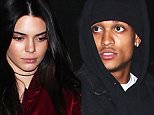 30.March.2016 - West Hollywood - USA\n*** STRICTLY AVAILABLE FOR UK AND GERMANY USE ONLY ***\nKendall Jenner leaves The Nice Guy with Lakers' Jordan Clarkson in West Hollywood. The KUWTK star wore a burgundy 'Life of Pablo' bomber jacket over a black top and skintight black leather leggings. The duo walked out separately and into an awaiting Uber.\nBYLINE MUST READ : AKM-GSI-XPOSURE\n***UK CLIENTS - PICTURES CONTAINING CHILDREN PLEASE PIXELATE FACE PRIOR TO PUBLICATION ***\n*UK CLIENTS MUST CALL PRIOR TO TV OR ONLINE USAGE PLEASE TELEPHONE 0208 344 2007*\n
