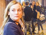 Diane Kruger poses with fans in Paris\n31 March 2016.\nPlease byline: Vantagenews.com