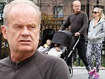 Picture Shows: Kelsey Grammer, Kayte Walsh  March 31, 2016\n \n Kelsey Grammer takes a stroll with his wife Kayte Walsh and their kids in New York City, New York. The actor has a new film 'Storks' coming out in September.\n \n Non-Exclusive\n UK RIGHTS ONLY\n \n Pictures by : FameFlynet UK © 2016\n Tel : +44 (0)20 3551 5049\n Email : info@fameflynet.uk.com