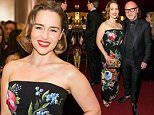 150141, Emilia Clarke, Domenico Dolce seen at the 2016 Mid-Winter Gala presented by Dolce&Gabbana at the Legion of Honor in San Francisco. The gala was hosted by the Junior Committee of the Fine Arts Museums of San Francisco with all proceeds supporting the Fine Arts Museum of San Francisco ¿Äì the de Young and the Legion of Honor. San Francisco, California - Thursday March 31, 2016. Photograph: ¬© PacificCoastNews. Los Angeles Office: +1 310.822.0419 UK Office: +44 (0) 20 7421 6000 sales@pacificcoastnews.com FEE MUST BE AGREED PRIOR TO USAGE