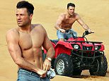 powell-dubaipix mark wright taking a break from djing in dubai by quad biking with friends