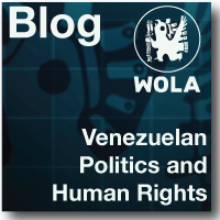 Read the Venezuelan Politics and Human Rights Blog