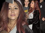 EXCLUSIVE: Nicole 'Snooki' Polizzi was looking worse for wear after spending quite a few hours partying inside the world famous 'Abbey' in West Hollywood, CA\n\nPictured: Nicole Polizzi\nRef: SPL1255464  010416   EXCLUSIVE\nPicture by: SPW  /TwisT /Splash News\n\nSplash News and Pictures\nLos Angeles: 310-821-2666\nNew York: 212-619-2666\nLondon: 870-934-2666\nphotodesk@splashnews.com\n