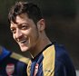 ST ALBANS, ENGLAND - APRIL 01:  Mesut Ozil of Arsenal during the Arsenal Training Session at London Colney on April 1, 2016 in St Albans, England.  (Photo by David Price/Arsenal FC via Getty Images)