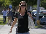 """EXCLUSIVE: Charlie Sheen's ex-fiancee Brett Rossi leaves a police station and claims she fears for her safety after a US tabloid reported Sheen """"planned retribution"""" against her...The porn star - real name Scottine Ross - was seen leaving Van Nuys Police Department but would not confirm she had filed a complaint against Sheen...Asked if she fears for her safety, she replied: """"Obviously.""""..It comes after the National Enquirer published the transcript of a tape said to have been recorded by another of Sheen's ex-lovers...According to the Enquirer, Sheen was recorded telling the woman he planned retribution against Brett after she sued him for assault and battery and exposure to HIV...The Enquirer reports Sheen fumed about being """"extorted"""" and when asked what he was going to do, replied: """"I'd rather spend 20-grand to have her head kicked in.""""....Pictured: Brett Rossi..Ref: SPL1255217  010416   EXCLUSIVE..Picture by: Canham/Splash News....Splash News and Pictu"""