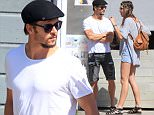True Blood hunk Ryan Kwanten with his girlfriend Ashley Sisino at LA hotspot Leona over the Easter weekend