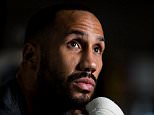 James Degale poses ahead of his World title defence against Rogelio Medina on April 30