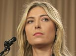 FILE - This is a Monday, March 7, 2016 file photo of tennis star Maria Sharapova as she speaks during a news conference in Los Angeles. Sharapova says she has failed a drug test at the Australian Open. In his first six months as president of the International Tennis Federation, David Haggerty has had anything but a quiet period to settle into his new job. Not with allegations of match-fixing and corruption, the Maria Sharapova doping case and disputes over prize money buffeting the sport. (AP Photo/Damian Dovarganes, File)