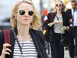New York, NY - Naomi Watts keeps it snazzy in stripes after grabbing her kids after school and taking them to an after school program. The 47 year old looks slinder while drinking her pressed juice.\nAKM-GSI       March 23, 2016\nTo License These Photos, Please Contact :\nSteve Ginsburg\n(310) 505-8447\n(323) 423-9397\nsteve@akmgsi.com\nsales@akmgsi.com\nor\nMaria Buda\n(917) 242-1505\nmbuda@akmgsi.com\nginsburgspalyinc@gmail.com