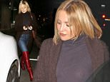 Kate Hudson Dines At Carlitos Gardel Restaurant With Her Friends in West Hollywood  Pictured: Kate Hudson Ref: SPL1255436  310316   Picture by: Photographer Group / Splash News  Splash News and Pictures Los Angeles: 310-821-2666 New York: 212-619-2666 London: 870-934-2666 photodesk@splashnews.com