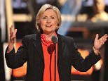 Rihanna speaks onstage at Black Girls Rock! 2016 on April 1, 2016 in Newark, New Jersey  Pictured: Hillary Clinton Ref: SPL1255070  010416   Picture by: Jackie Brown / Splash News  Splash News and Pictures Los Angeles: 310-821-2666 New York: 212-619-2666 London: 870-934-2666 photodesk@splashnews.com