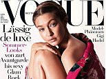 Gigi Hadid on the Cover of German Vogue