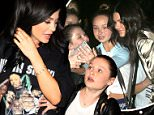 Kylie Jenner gets mobbed by girls asking for a selfie at Craig's in West Hollywood\n\nPictured: Kylie Jenner\nRef: SPL1255424  310316  \nPicture by: LA Photo Lab / Splash News\n\nSplash News and Pictures\nLos Angeles: 310-821-2666\nNew York: 212-619-2666\nLondon: 870-934-2666\nphotodesk@splashnews.com\n