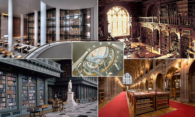Inside the most incredible libraries in Britain