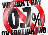 we cant pay 0.7% graphic