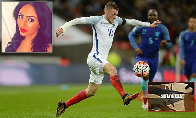 England star Jamie Vardy accused of only seeing his eldest daughter once a month