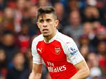 Gabriel Paulista of Arsenal during the Barclays Premier League match between Arsenal and Watford played at The Emirates Stadium, London on April 2nd 2016