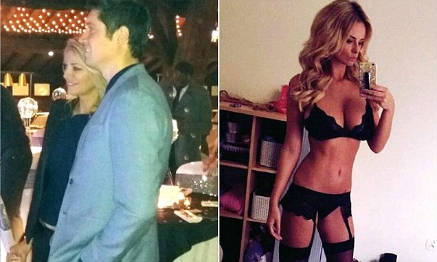 Vernon Kay and wife Tess Daly appear in high spirits as they put on a united front