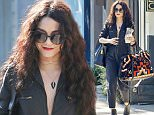 Picture Shows: Vanessa Hudgens  April 02, 2016\n \n Singer and actress Vanessa Hudgens was spotted out leaving a hair salon in Los Angeles, California. After grabbing something to drink, she made sure to pay valet for her car. \n \n Non-Exclusive\n UK RIGHTS ONLY\n \n Pictures by : FameFlynet UK © 2016\n Tel : +44 (0)20 3551 5049\n Email : info@fameflynet.uk.com