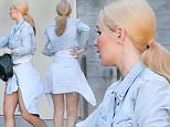 EXCLUSIVE TO INF. \nMarch 31, 2016: Australian rapper Iggy Azalea shows off her long legs at the studio in Los Angeles.\nMandatory Credit: Mariotto/Chiva/INFphoto.com Ref: infusla-244/276