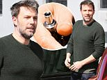 Santa Monica, CA - Ben Affleck looks chipper this Friday morning as he arrives at his office in Santa Monica with an E-Cigarette in hand. \nAKM-GSI      April 1, 2016\nTo License These Photos, Please Contact :\nSteve Ginsburg\n(310) 505-8447\n(323) 423-9397\nsteve@akmgsi.com\nsales@akmgsi.com\nor\nMaria Buda\n(917) 242-1505\nmbuda@akmgsi.com\nginsburgspalyinc@gmail.com