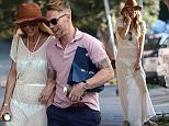 EXCLUSIVE POWER COUPLE STORM KEATING AND RONAN KEATING SPOTTED IN BONDI. RONAN WAS LOOKING\nPRETTY IN PINK WHILE STORMS SHEER OUTFIT DIDN'T LEAVE MUCH TO THE IMAGINATION!!\n