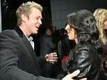 LOS ANGELES, CA - OCTOBER 14: Spencer Pratt and Kim Kardashian at The Grand Opening of XIV Restaurant on October 14, 2008 in Los Angeles, California.  (Photo by Alexandra Wyman/WireImage)