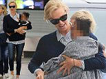 02.April.2016 - Milan - Italy **EXCLUSIVE ALL ROUND PICTURES** Hollywood actress Charlize Theron and her daughter August leaving Milan from Malpensa's airport.  *AVAILABLE FOR UK SALE ONLY* BYLINE MUST READ : CIAO PIX/XPOSUREPHOTOS.COM ***UK CLIENTS - PICTURES CONTAINING CHILDREN PLEASE PIXELATE FACE PRIOR TO PUBLICATION *** *UK CLIENTS MUST CALL PRIOR TO TV OR ONLINE USAGE PLEASE TELEPHONE 0208 344 2007**