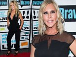 WATCH WHAT HAPPENS LIVE -- Pictured: Tamra Judge -- (Photo by: Charles Sykes/Bravo/NBCU Photo Bank via Getty Images)